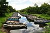 Boats. Ross Castle, Killarney. Sat 05.07.14