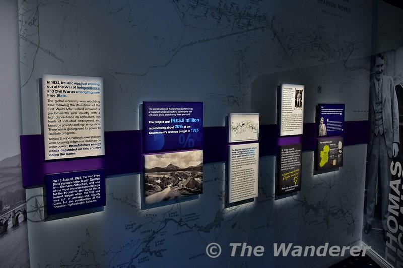 The Ardnacrusha visitors centre. Mon 15.08.17