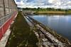 Narrow gauge track at Ardnacrusha. Mon 15.08.17