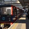No.12 on the Docklands Light Railway arrives at Stratford International. Weds 18.04.18