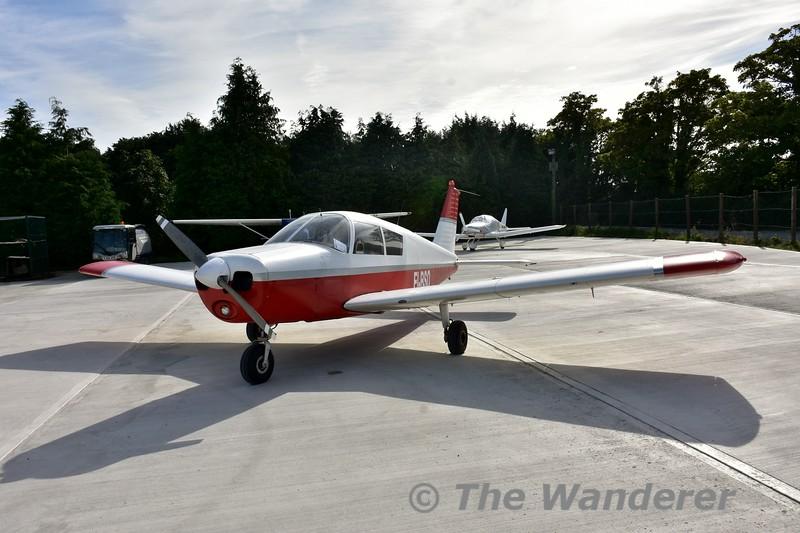 EI-BSO Piper Cherokee PA28-140B at Newcastle Aerodrome. Sat 17.09.16
