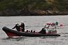 Coast Guard demonstration 3: Kayaker in water. Foynes Air Show. Sun 26.07.15