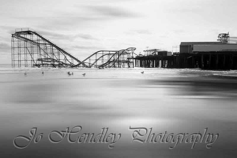 Jet Star Rollercoaster, Casino Pier, Seaside Heights