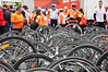 Bikes at the Cycle Against Suicide finale. Gardai Boat Club Chapelizod Road, Dublin. Sun 11.05.14