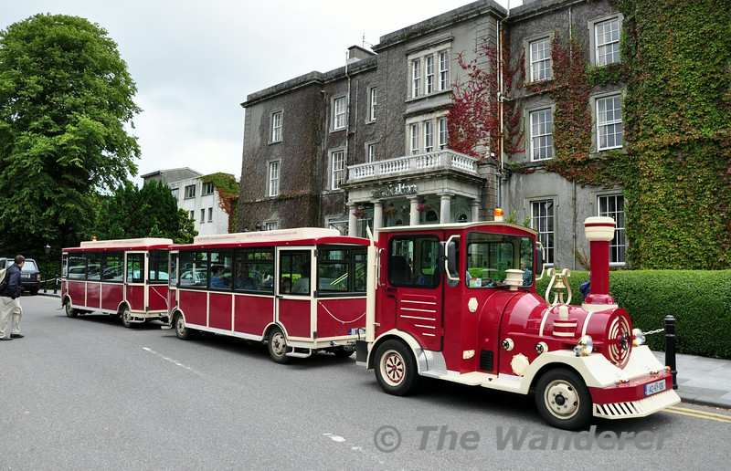 The Killarney Tourist Train outside the Malton Hotel, Killarney. Sat 16.08.14