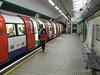 Tottenham Court Road Northern Line platform. Fri 12.12.08