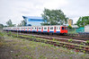 D78 stock car 7081 leaves Acton Town bound for Hammersmith. Sun 15.05.11