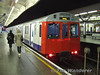 7040 brings up the rear of a District line service to Barking. Fri 12.12.08