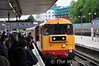 20227 leads the empty stock from Neasden Depot into Harrow on the Hill. Sun 16.05.10