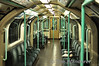 Interior of the 92 stock as used on the Waterloo and City line.  Mon 16.05.11