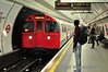 3245 leads a Bakerloo Line Train to Queens Park at Oxford Circus. Mon 17.10.11