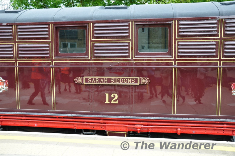 Nameplate on No. 12. Sun 16.05.10
