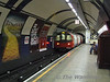 A 95 Stock train leaves Mornington Crescent heading northbound. Sun 01.06.08