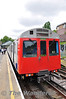 7083 at Ealing Broadway with a District line train to Hammersmith. Sun 15.05.11