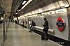 Waterloo Station Jubilee Line platform. Mon 16.05.11