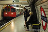 A 72 stock train arrives at Baker Street. Mon 16.05.11