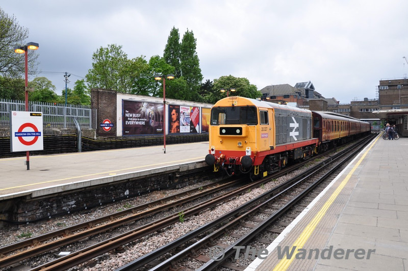 20227 after arriving from Amersham. Sun 16.05.10