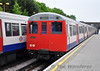 A Stock 5072 arrives at Harrow on the Hill. Sun 16.05.10