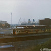 457 at Larne Harbour after working the 0625 York Road/Larne Harbour - 8th March 1991