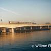 UID 450 Class passes over the Dargan Bridge in December 1994