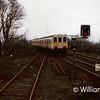 456 departs Carrickfergus in 1991