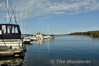 Moored at Garrykennedy Marina for the first night of the cruise. Sat 21.04.18