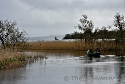 Heading down the Scariff River towards Lough Derg. Mon 23.04.18