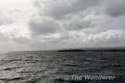 Red Marker B on Lough Derg off Hare Island. Mon 23.04.18