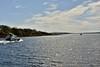 Once through the bridge we head south towards Lough Derg. Sat 21.04.18