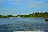 Cruising the Shannon from Carrick-on-Shannon and about to turn to Starboard into the Jamestown Canal. Sat 15.08.20