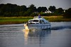 Passing another boat south of Athlone. Sat 28.08.21