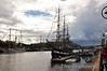 The Jeannie Johnston docked at the Dublin Tall Ships. Sat 25.08.12
