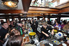 The Blue River Bistro Bar on board the MV Cill Arine was doing a roaring trade on Saturday as visitors to the Dublin Tall Ships escaped from a rain shower. Sat 25.08.12