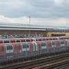 Passing Ruslip underground depot. 050415