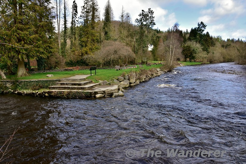 Meeting of the Waters in the Vale of Avoca where the Avonmore a nd Avonbeg rivers meet to form the River Avoca. Sat 09.03.19