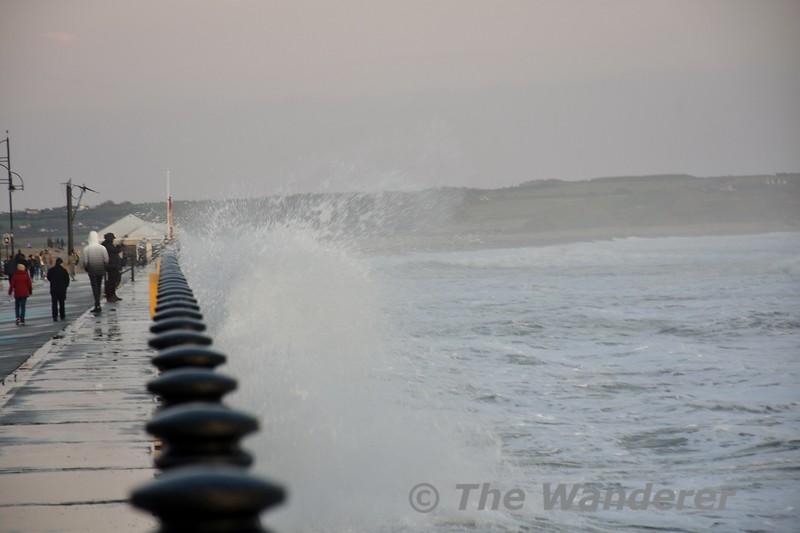 The Promenade at Tramore. Sat 26.10.19