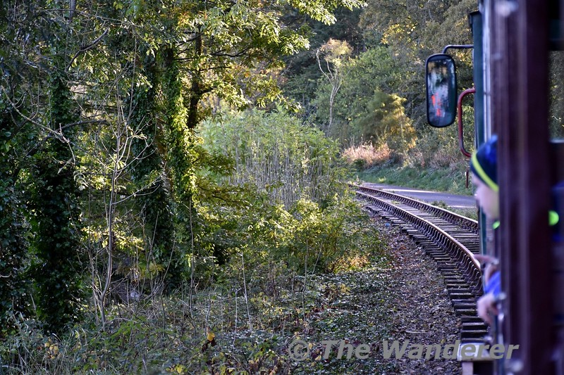 Travelling onboard the WSVR. Sun 27.10.19
