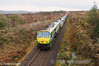 231 at Stonehall on the Ballina Branch with the 0930 North Wall - Ballina IWT Liner. Thurs 26.01.12. Photo: Noel Enright.