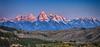 Sunlit Peaks