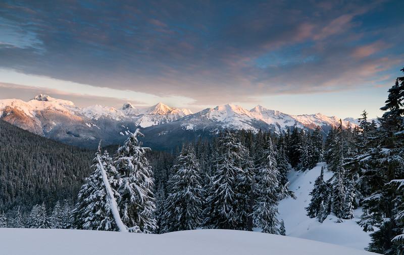 Cascade Sunrise<br /> Mt. Baker National Forest