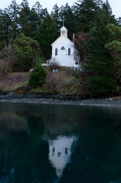 Chapel Reflection<br /> Roche Harbor