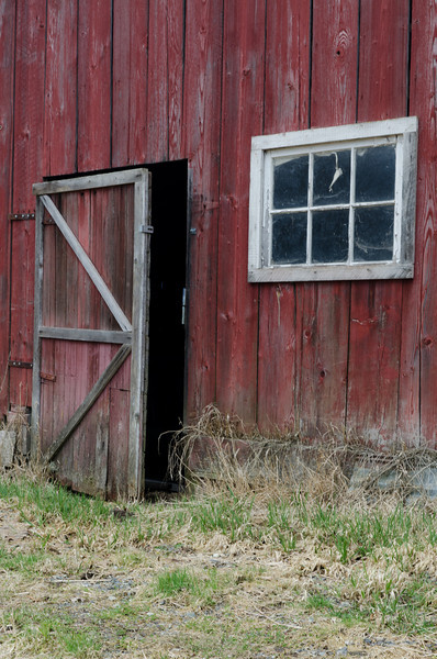 Red Barn Door<br /> Whatcom County, Washington