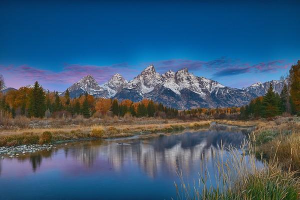Teton Morning Reflection