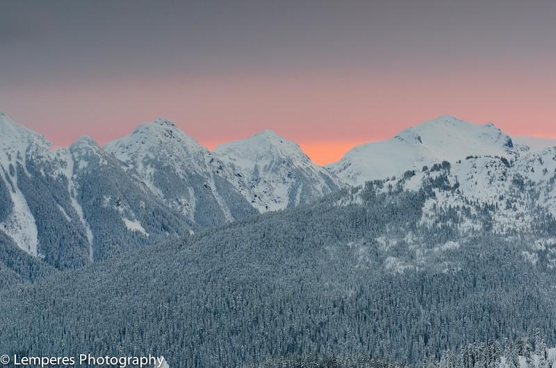 Cascade Sunrise Glow