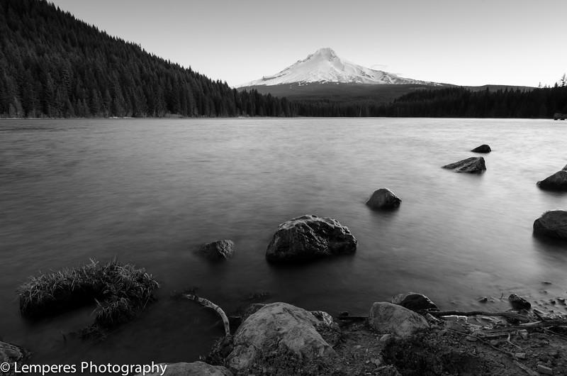 Trillium Lake Morning <br /> Mt. Hood