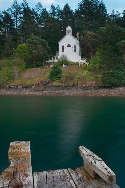 Our Lady of Good Voyage Chapel<br /> Roche Harbor, WA
