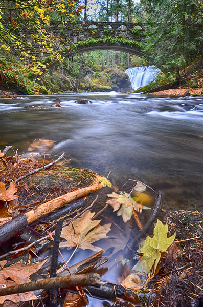 Whatcom Falls in Autumn