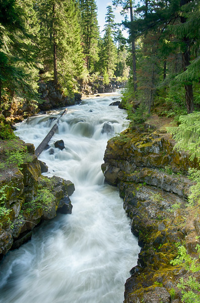 Rogue River at the Natural Bridge