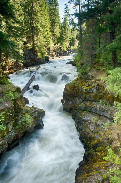 Rogue River at the Natural Bridge