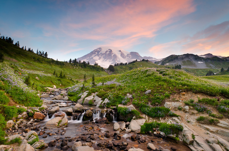 Morning Sky<br /> Mt. Rainier National Park